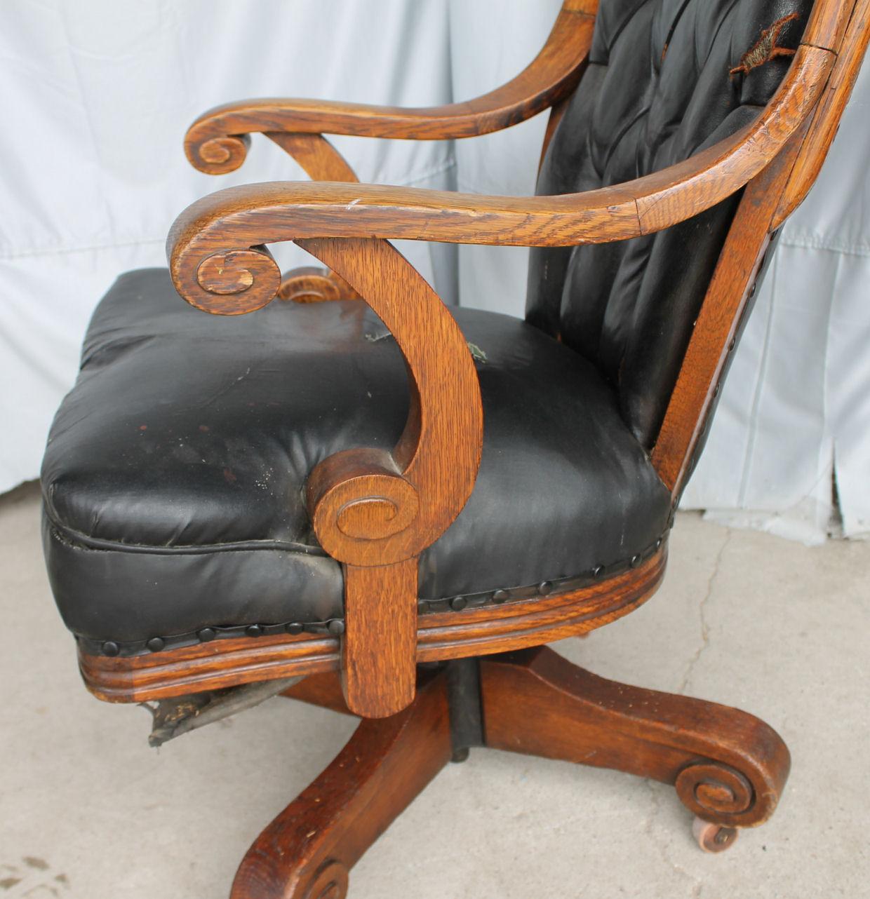 Bargain Johns Antiques  Antique Oak Sears Executive