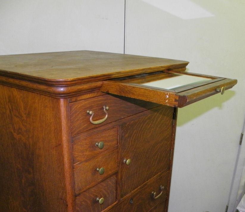 Bargain Johns Antiques  Rare Antique Oak Gentlemans