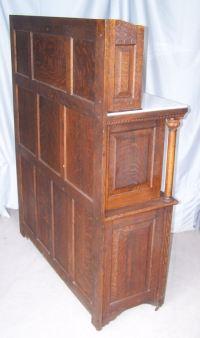 Bargain John's Antiques | Antique Oak Dental Cabinet made ...