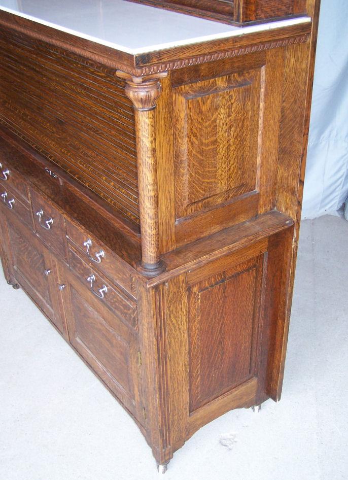 Bargain Johns Antiques  Antique Oak Dental Cabinet made
