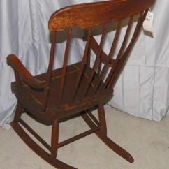 Antique Rocking Chair Office And Ottoman Set Bargain John's Antiques | Old Boston Rocker -