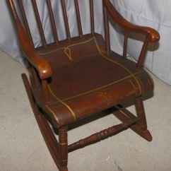Iron Rocking Chair Gym Video Bargain John's Antiques | Antique Old Boston Rocker -