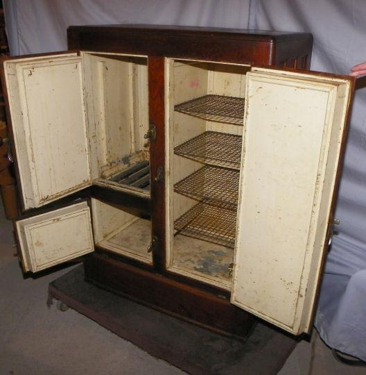 Bargain Johns Antiques  Blog Archive Antique Oak Ice Box