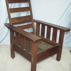 Arts And Crafts Chairs Bedroom Glider Chair Bargain John's Antiques | Antique Mission Oak Morris -