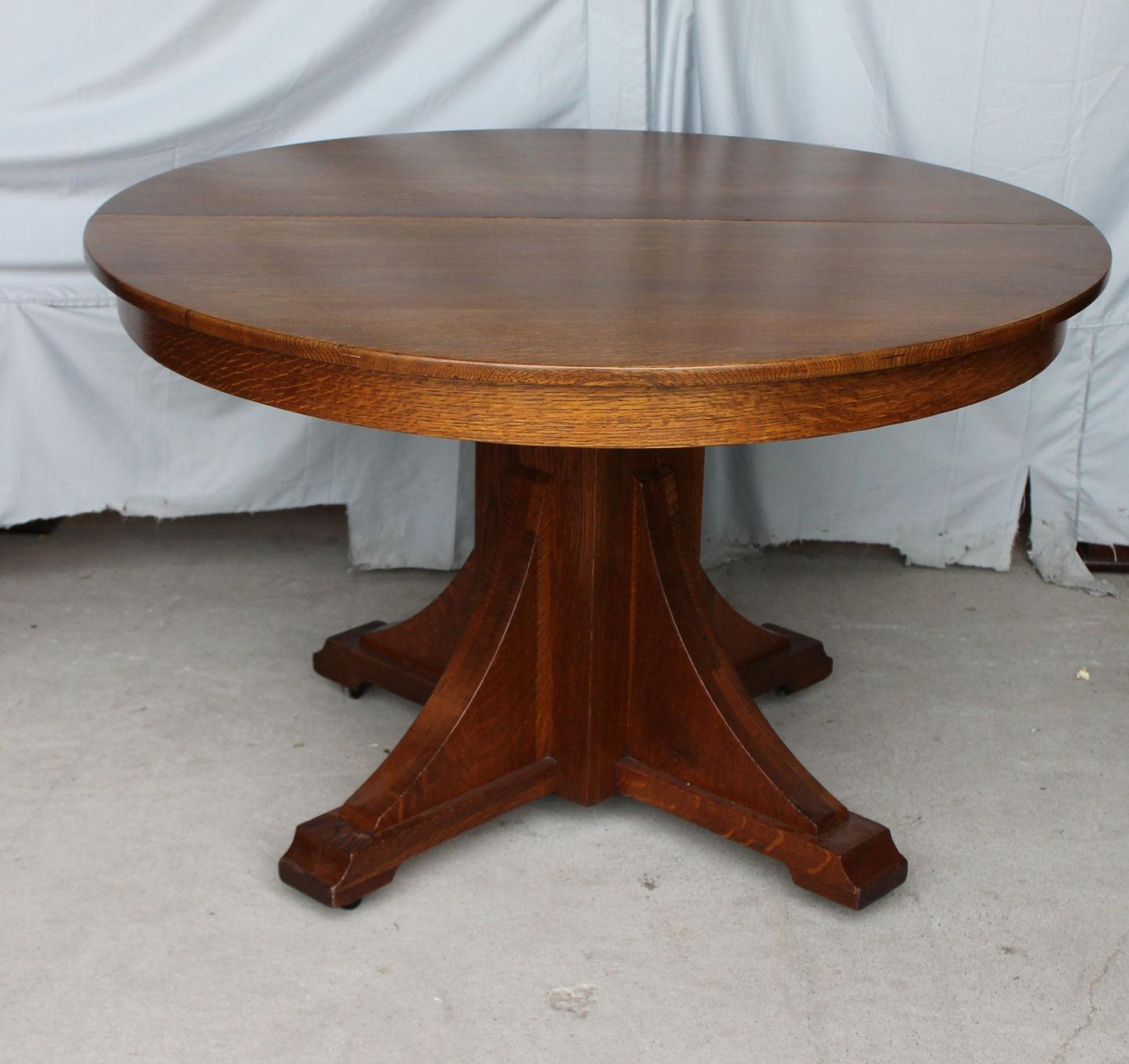 Bargain Johns Antiques  Mission Oak Antique Dining Set