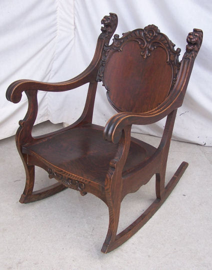Bargain Johns Antiques  Antique Oak Parlor Set with