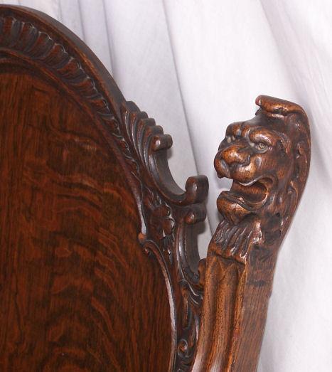 Bargain Johns Antiques  Antique Oak Parlor Set with