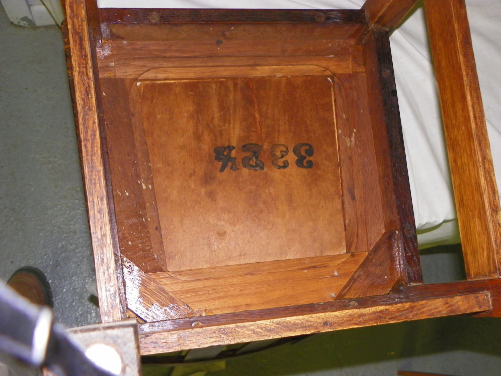 antique high chairs gateleg table with bargain john's antiques | stickley oak chair mission arts & crafts -