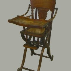 Cane Back Chairs Antique Most Comfortable Desk Chair Ever Bargain John's Antiques | Oak High And Stroller Combination - ...