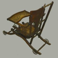 Antique Sewing Chair Luna Events Covers Bargain John's Antiques | Oak High And Stroller Combination - ...