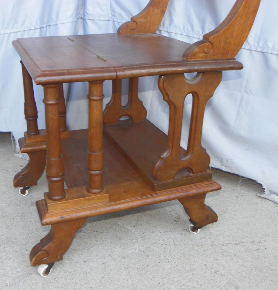Bargain Johns Antiques  Victorian Walnut Combination