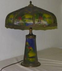 Bargain John's Antiques | Antique Beautiful Reverse ...
