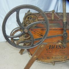 Wooden Office Chair Arm Pads Bargain John's Antiques | Antique The Boss Number 32 Washing Machine - ...