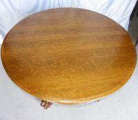 Bargain John's Antiques | Hastings 48 Inch Round Oak ...