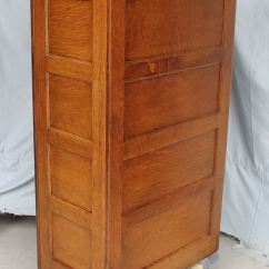 Office Chair Height Lawn With Canopy Bargain John's Antiques | Antique Oak File Cabinet - 4 Drawers