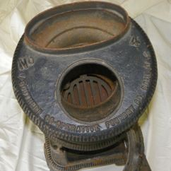 Kitchen Crock Ranges Bargain John's Antiques   Small Cast Iron Pot Belly Stove ...