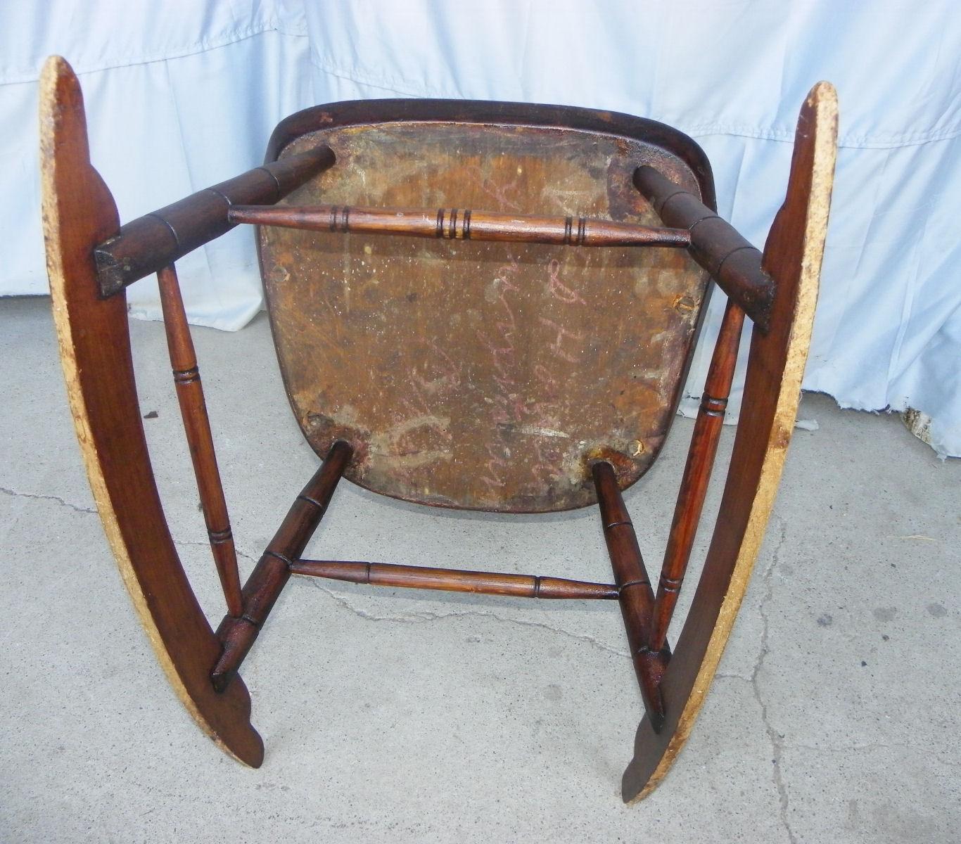 Bargain Johns Antiques  Antique Primitive Windsor style