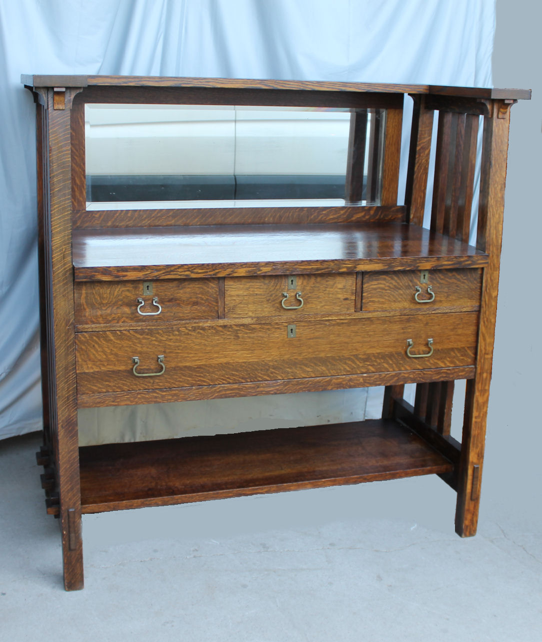 Bargain Johns Antiques  Arts  Crafts Mission Oak