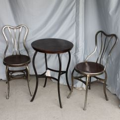 Ice Cream Table And Chairs Comfortable Sitting Bargain John 39s Antiques Set Of 4 Parlor