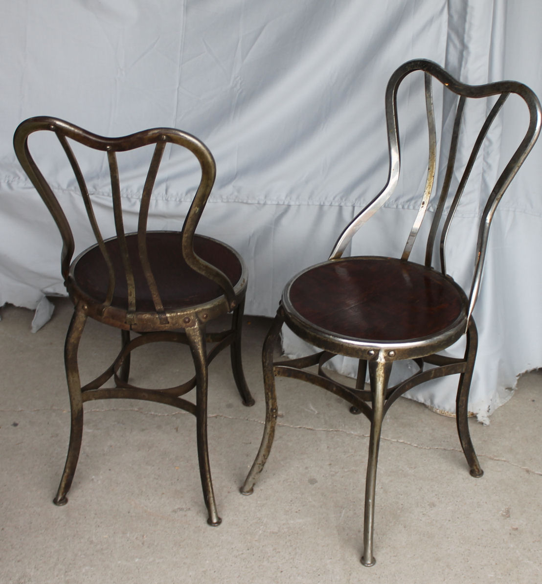 ice cream table and chairs antique rocking uk bargain john 39s antiques set of 4 parlor