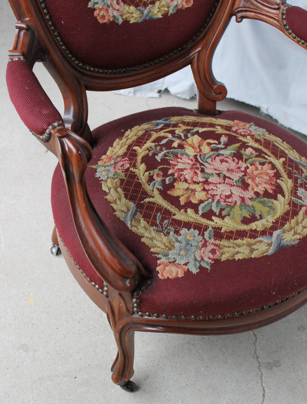 gentlemans chair covers hire prices bargain john's antiques | antique victorian walnut arm -