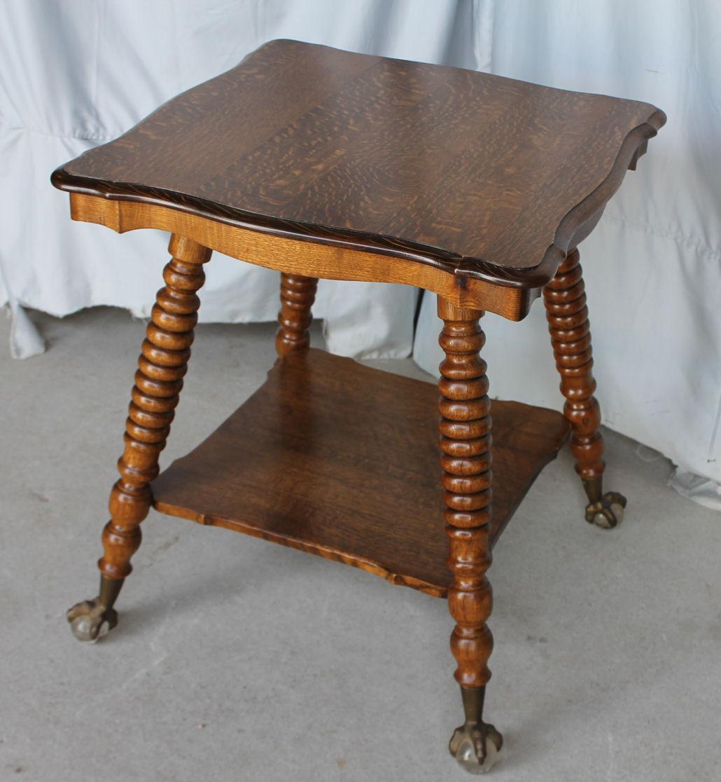 iron rocking chair blood drawing bargain john's antiques | antique oak lamp table - glass ball feet