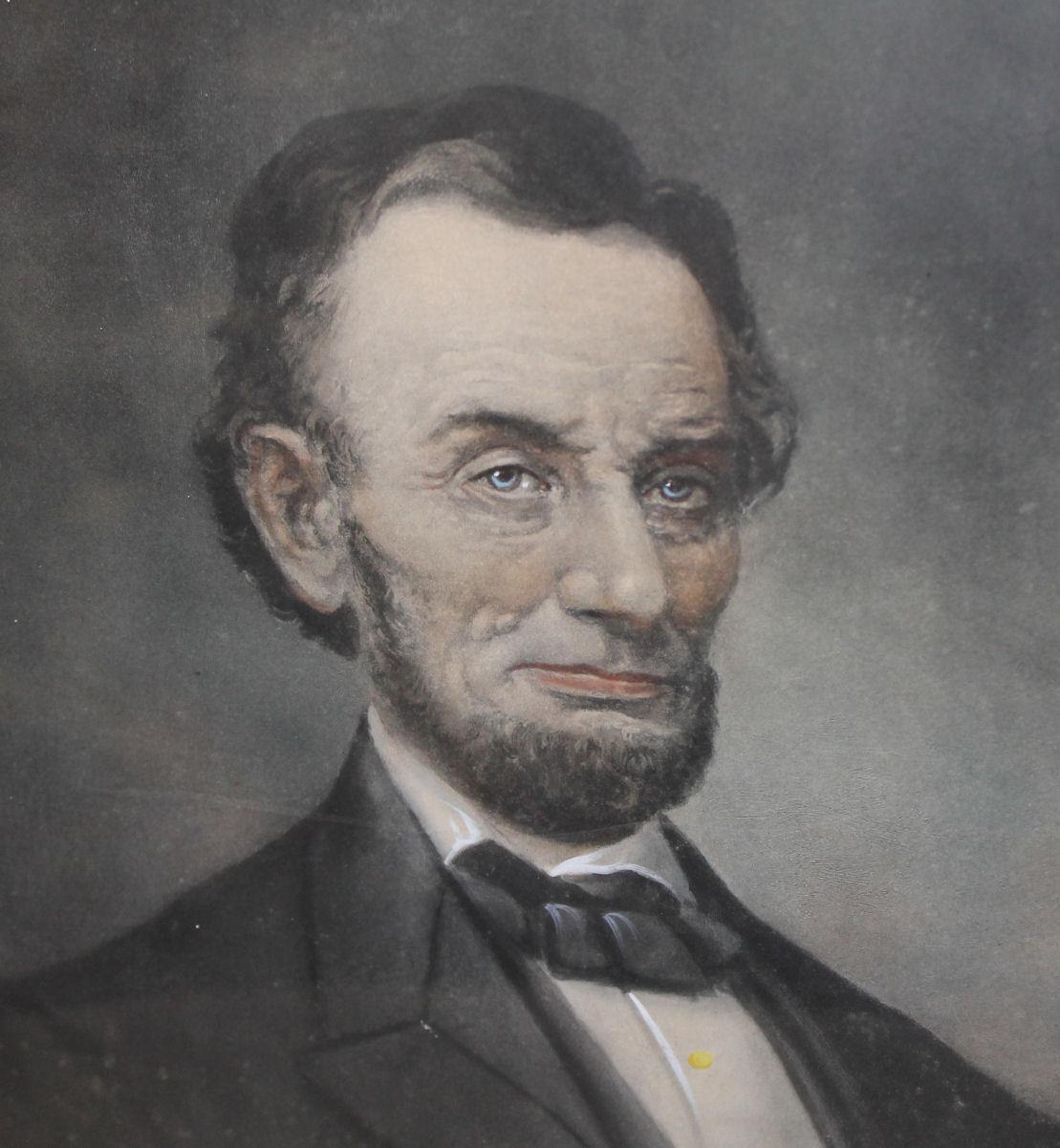 Bargain Johns Antiques  Portrait of President Abraham