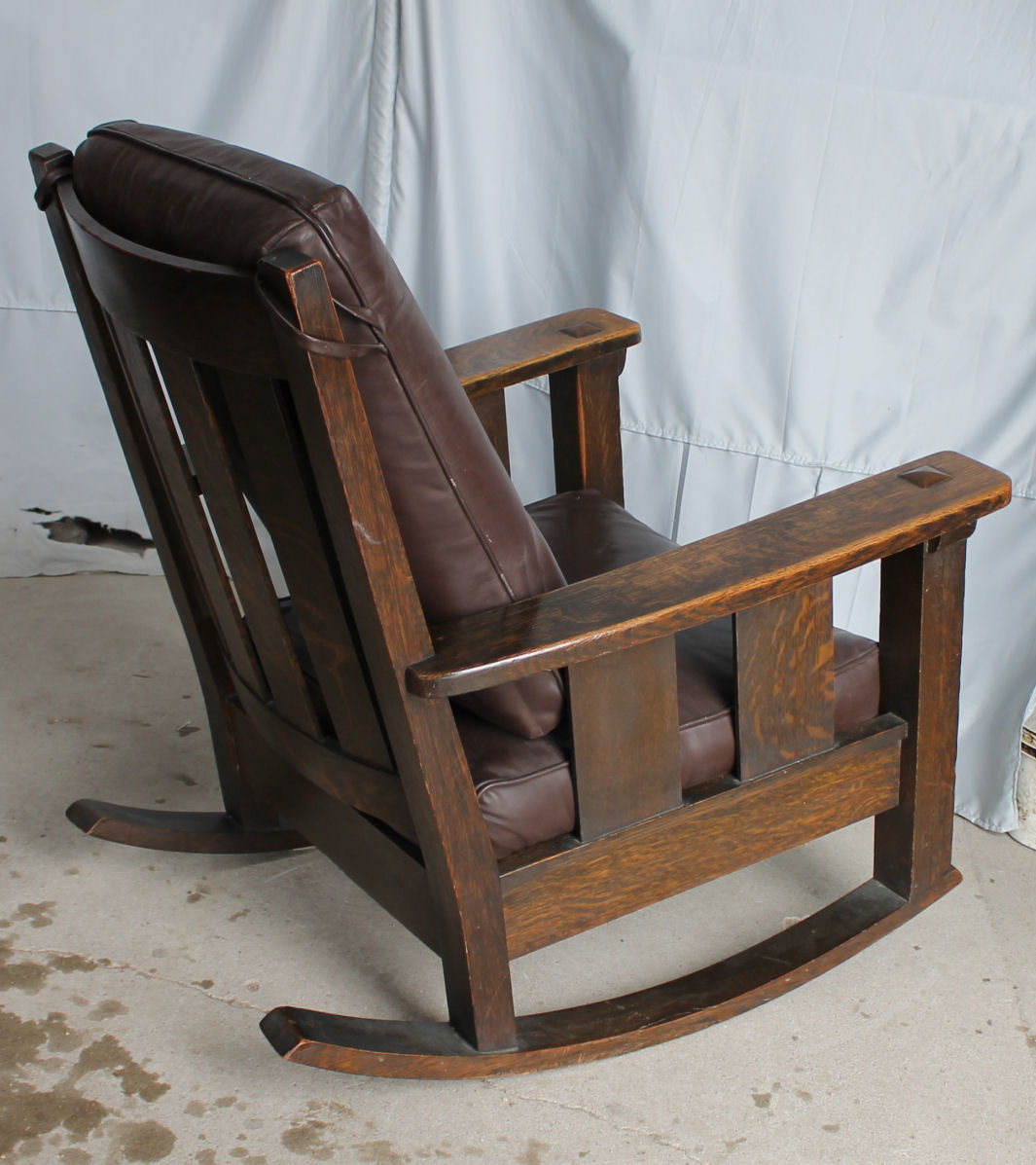 Bargain Johns Antiques  Limbert Set  Mission Oak