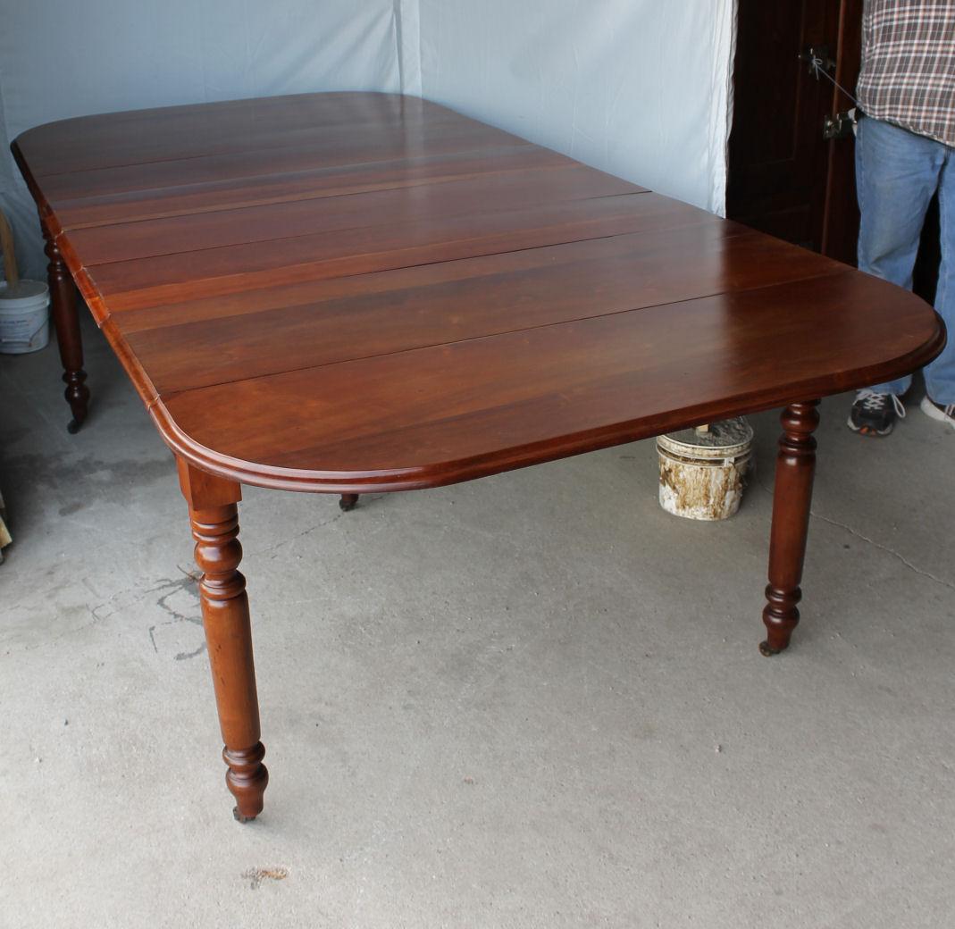 Bargain John S Antiques Antique Cherry Drop Leaf Table