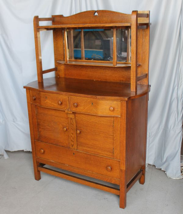 Arts and Crafts Mission Oak Buffet Sideboard