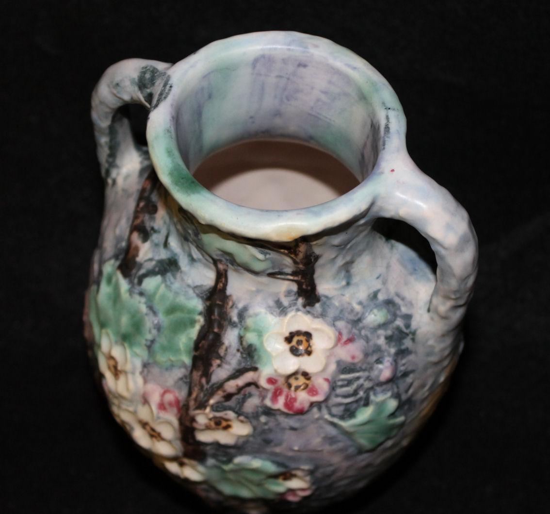 Bargain Johns Antiques  Antique Weller Pottery double