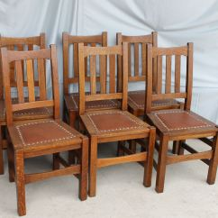 Arts And Crafts Style Chair Steelcase Kart Bargain John 39s Antiques Mission Oak Set