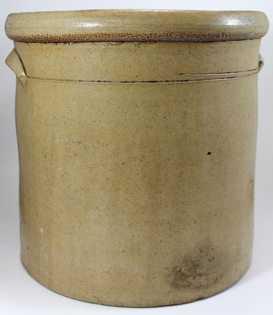 Bargain Johns Antiques  Salt Glaze 3 Gallon Red Wing