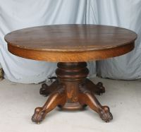 Bargain John's Antiques  Blog Archive Round Oak Table ...