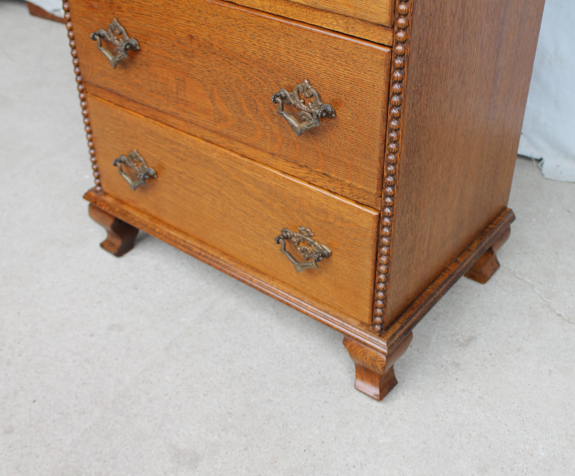 Bargain Johns Antiques  Antique Oak Lingerie Chest of