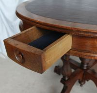 Bargain John's Antiques | Victorian Oak Game Table - claw ...