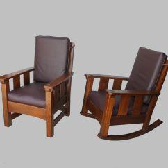 Mission Arm Chair Teak Chairs Outdoor Bargain John 39s Antiques Antique Limbert Set