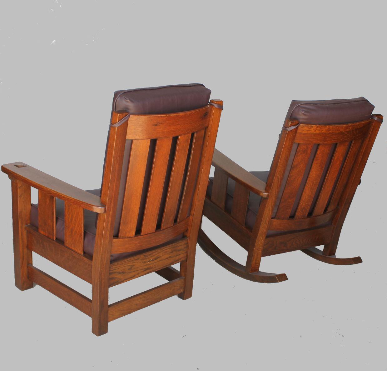 mission arm chair us leisure adirondack bargain john 39s antiques antique limbert set
