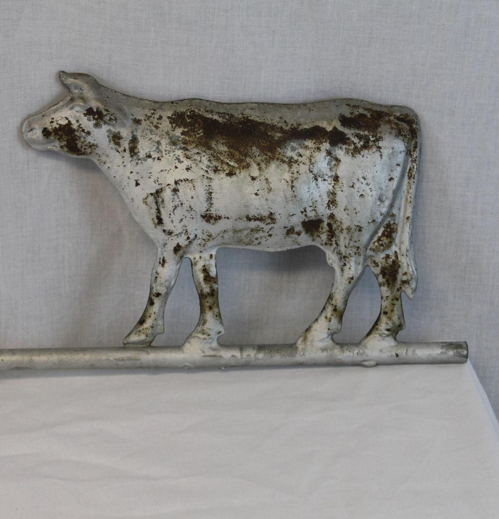 Bargain Johns Antiques  Zinc Antique Weathervane with