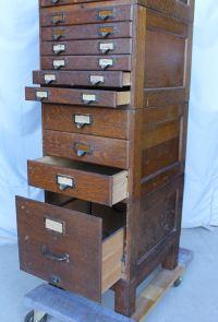 Bargain John's Antiques | Oak File Cabinet - Shaw Walker ...