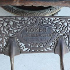 1800 Koken Barber Chair Dining Room Cushion Covers Bargain John 39s Antiques Antique Oak
