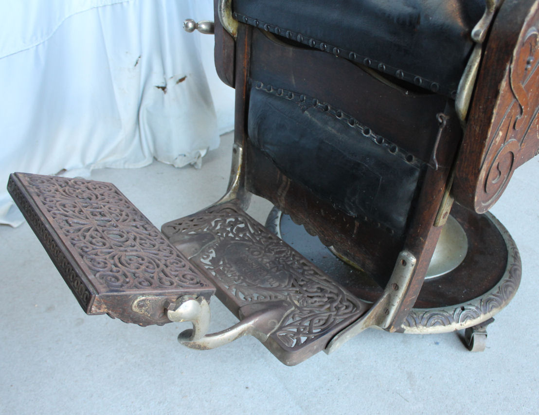 1800 koken barber chair best folding for bad back bargain john 39s antiques antique oak