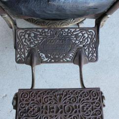 1800 Koken Barber Chair Massage Chairs For Less Bargain John 39s Antiques Antique Oak
