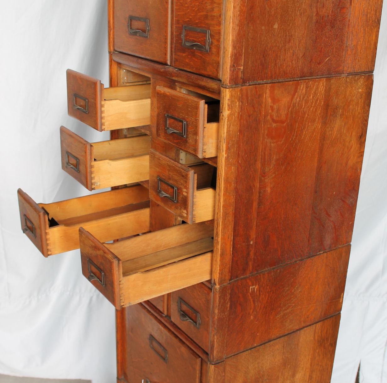 Bargain Johns Antiques  Antique Oak File Cabinet  Weis