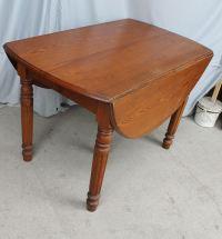 Bargain John's Antiques | Antique Drop leaf Kitchen Table ...
