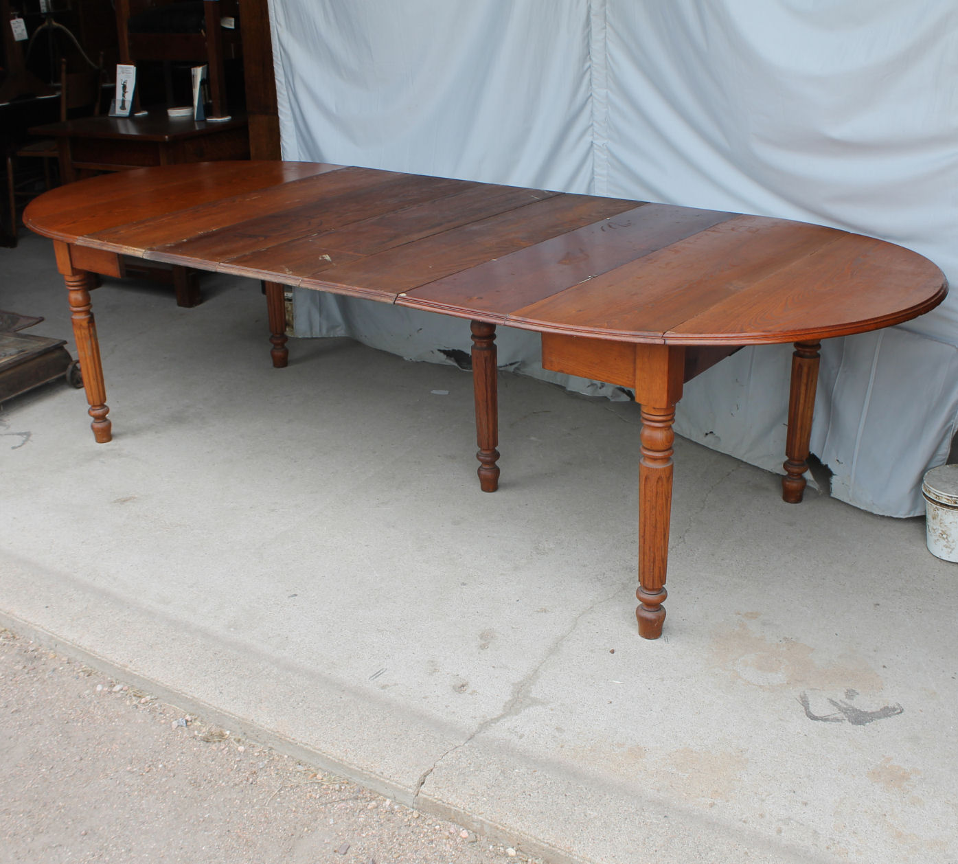 oak cabinet kitchen remodel estimate bargain john's antiques | antique drop leaf table ...