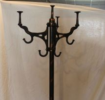 Bargain John' Antiques Cast Iron Coat Rack - Copper And