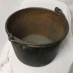 Kitchen Accessories Store Polished Nickel Faucet Bargain John's Antiques | Antique Apple Butter Copper ...