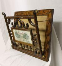 Bargain John's Antiques   Victorian Oak stick and ball ...