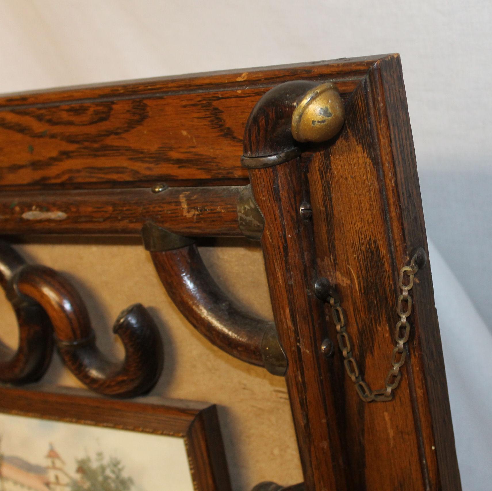 Bargain Johns Antiques  Victorian Oak stick and ball